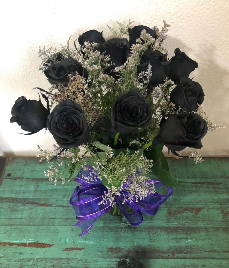 Rosas Negras Flores Y Expresiones